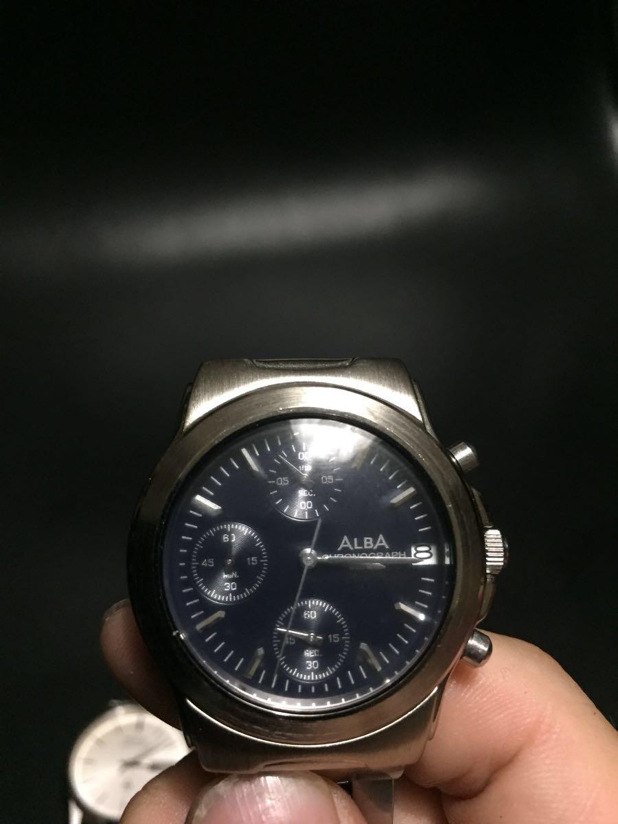腕時計 セイコー 5856-8040 ALBA v657- x013ジャンク扱い_画像2