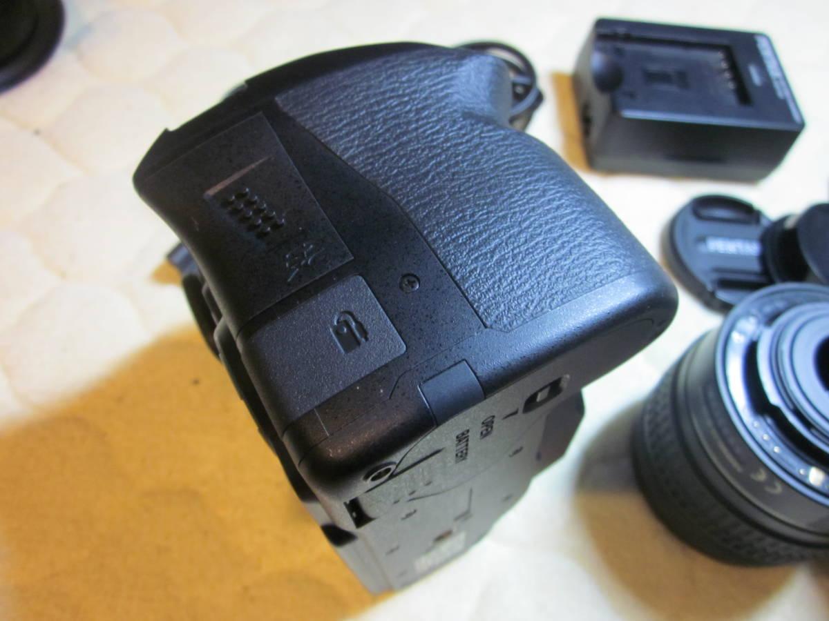 極上品、PENTAX ペンタックス K-30 純正18-55,55―300mmダブルレンズセット ,_画像3