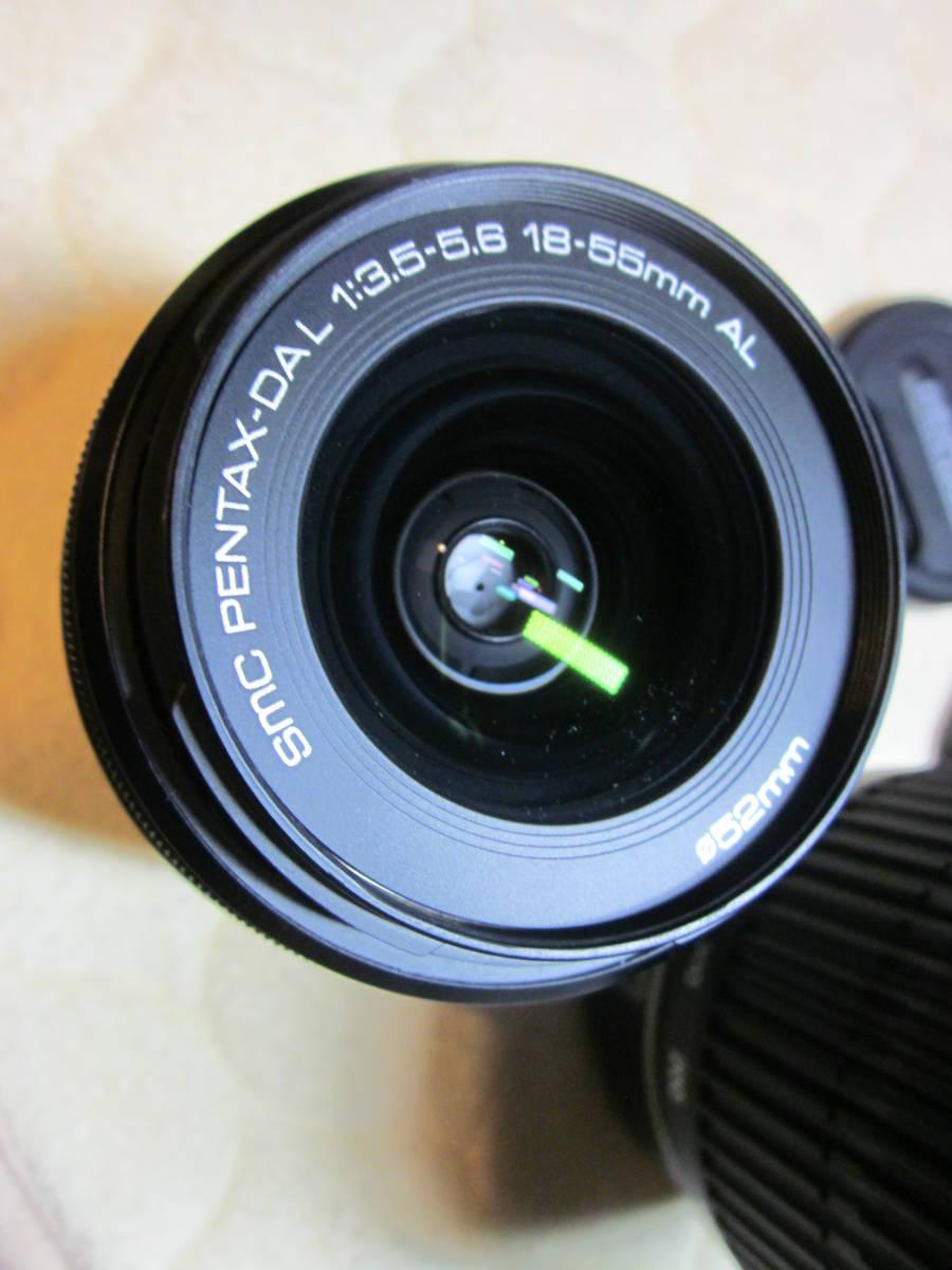 極上品、PENTAX ペンタックス K-30 純正18-55,55―300mmダブルレンズセット ,_画像7
