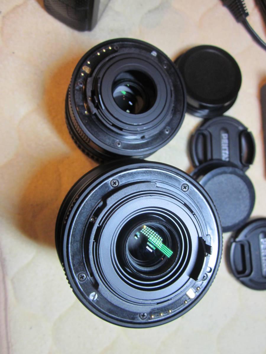 極上品、PENTAX ペンタックス K-30 純正18-55,55―300mmダブルレンズセット ,_画像10
