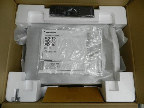 ☆新品/未使用品☆Pioneer パイオニア CD/SACDプレーヤー ハイレゾ音源対応 PD-10_画像3