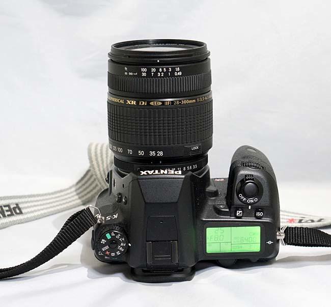 【最落なし】 PENTAX K-5 + TAMRON AF 28-300mm 1:3.5-6.3 + 16GBSD 到着即撮影可_画像4