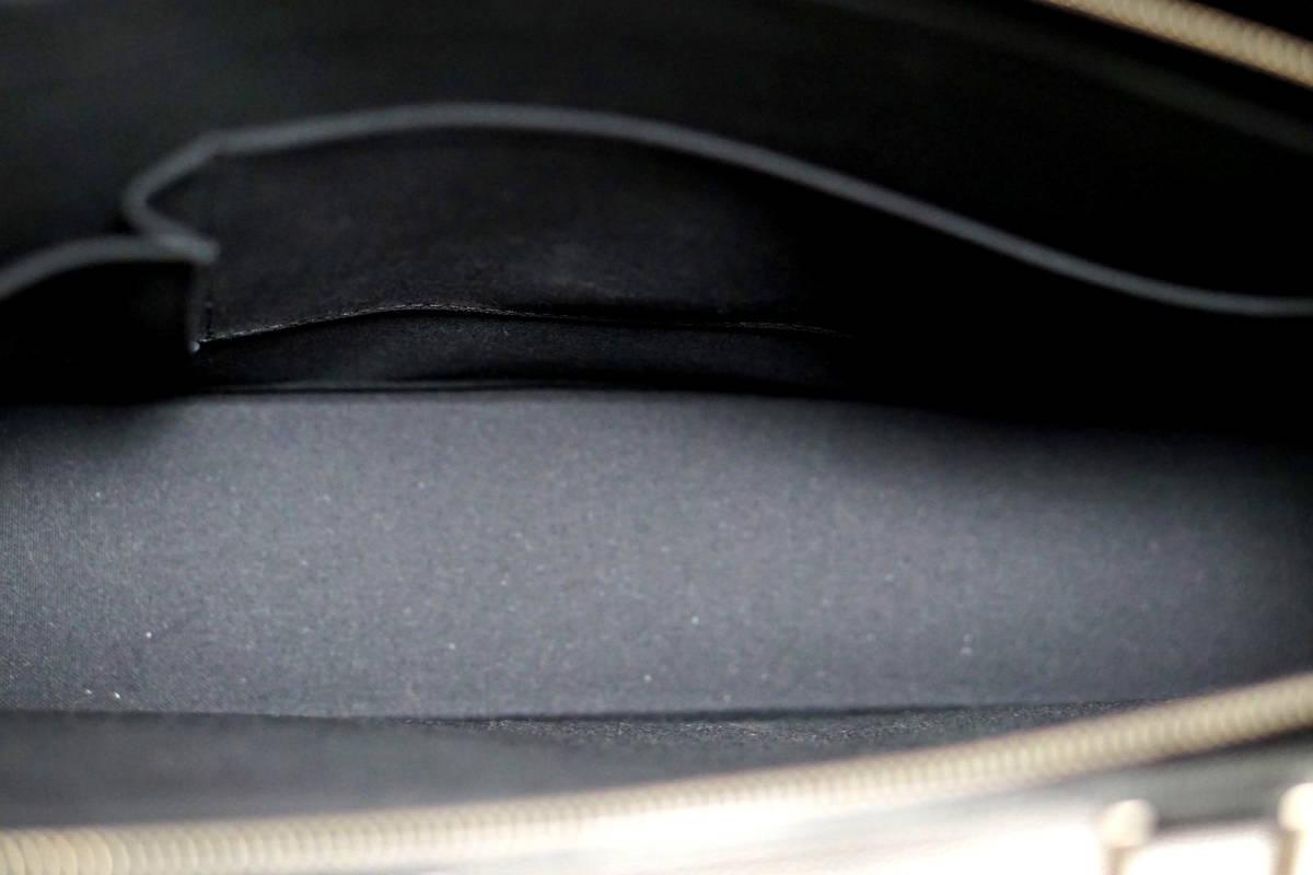 【新品同様/正規品 】ルイ・ヴィトンタイガ/ロザン/ビジネス/バッグ/メンズ/黒/新型キャンバス/定価約33万/1円スタート_画像9