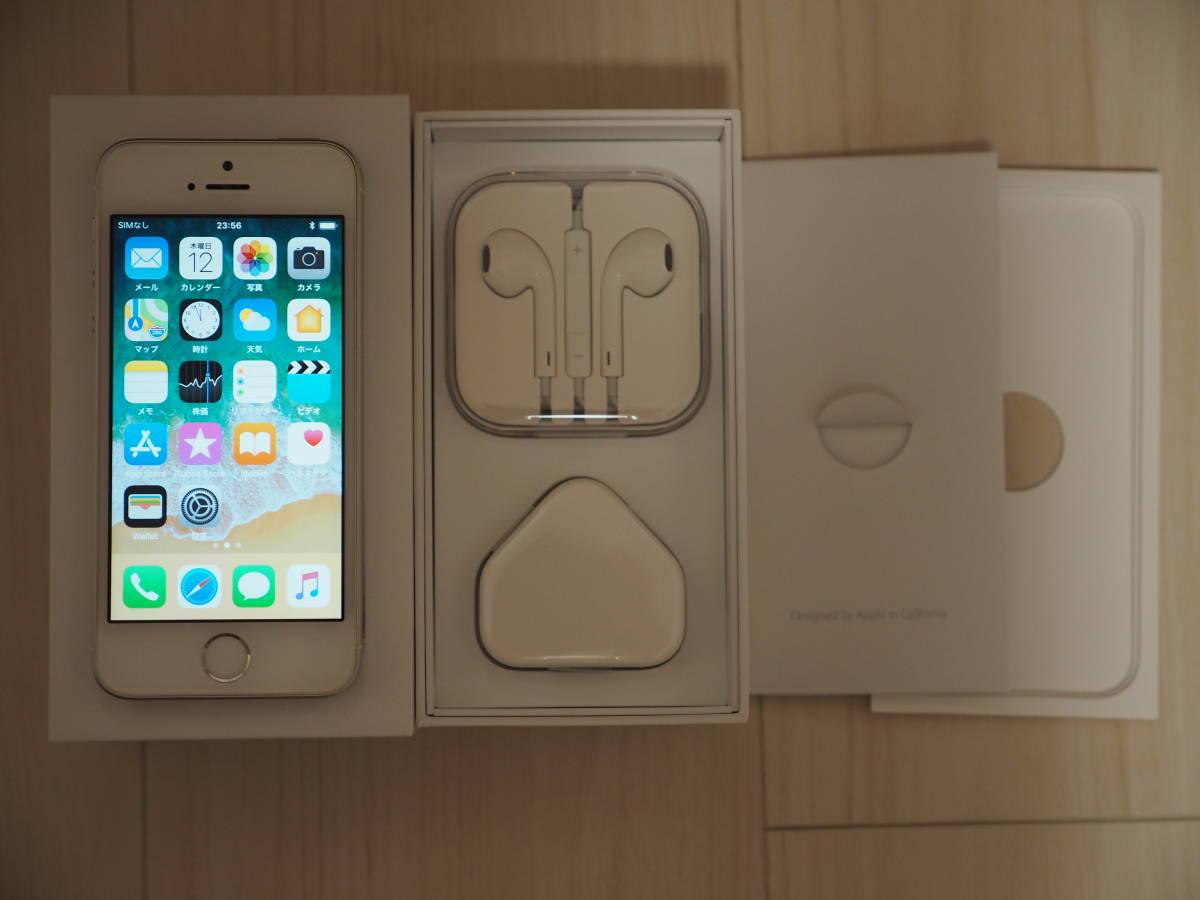 [中古/美品]iPhoneSE 64GB SIMフリー(香港版) MLM72ZP/A iOS11.4 A1723_画像2