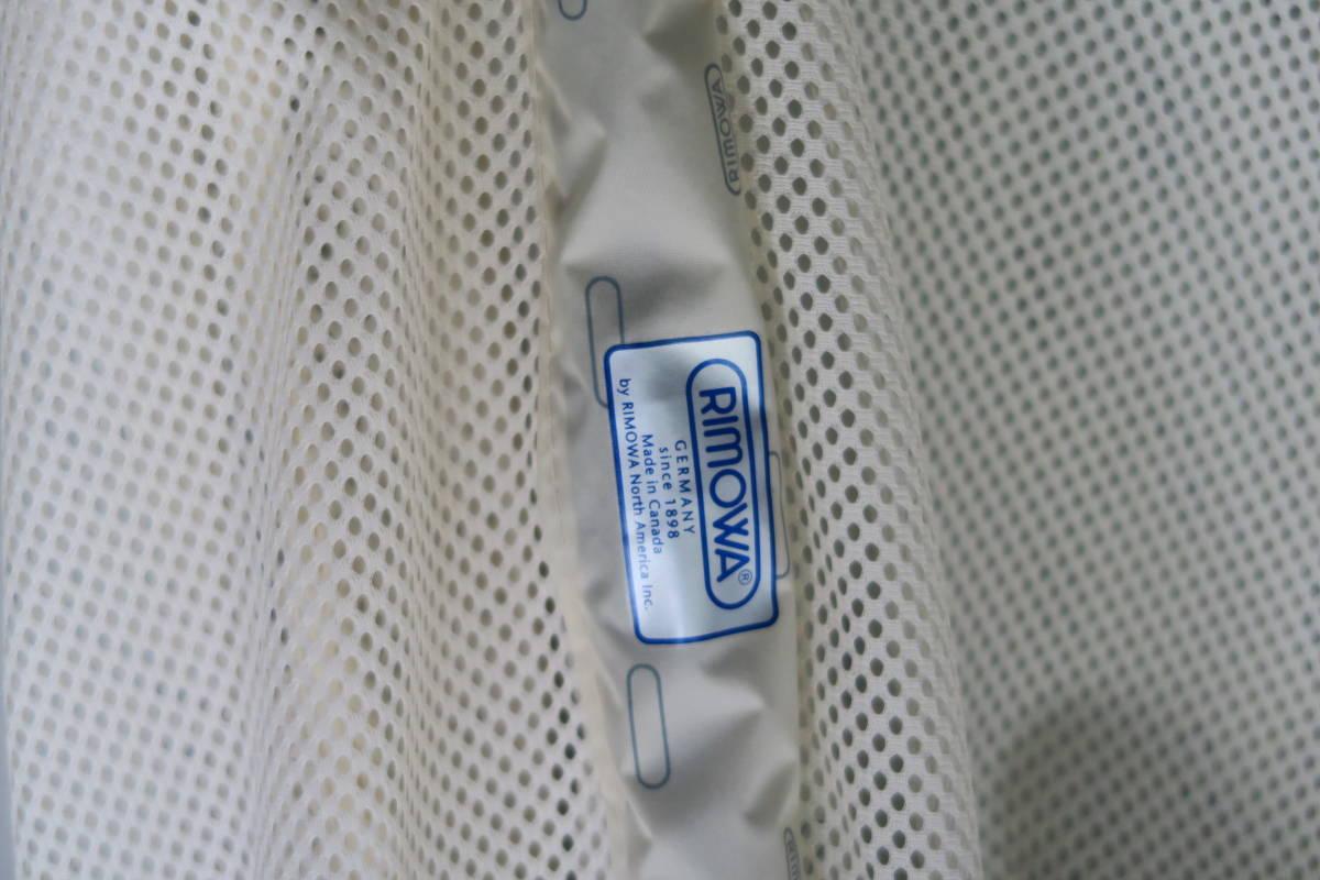 RIMOWA リモワ サルサエアー スーツケース ネイビー 4輪 サイズ 約65l_画像8
