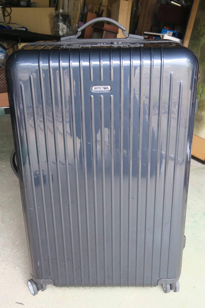 RIMOWA リモワ サルサエアー スーツケース ネイビー 4輪 サイズ 約65l
