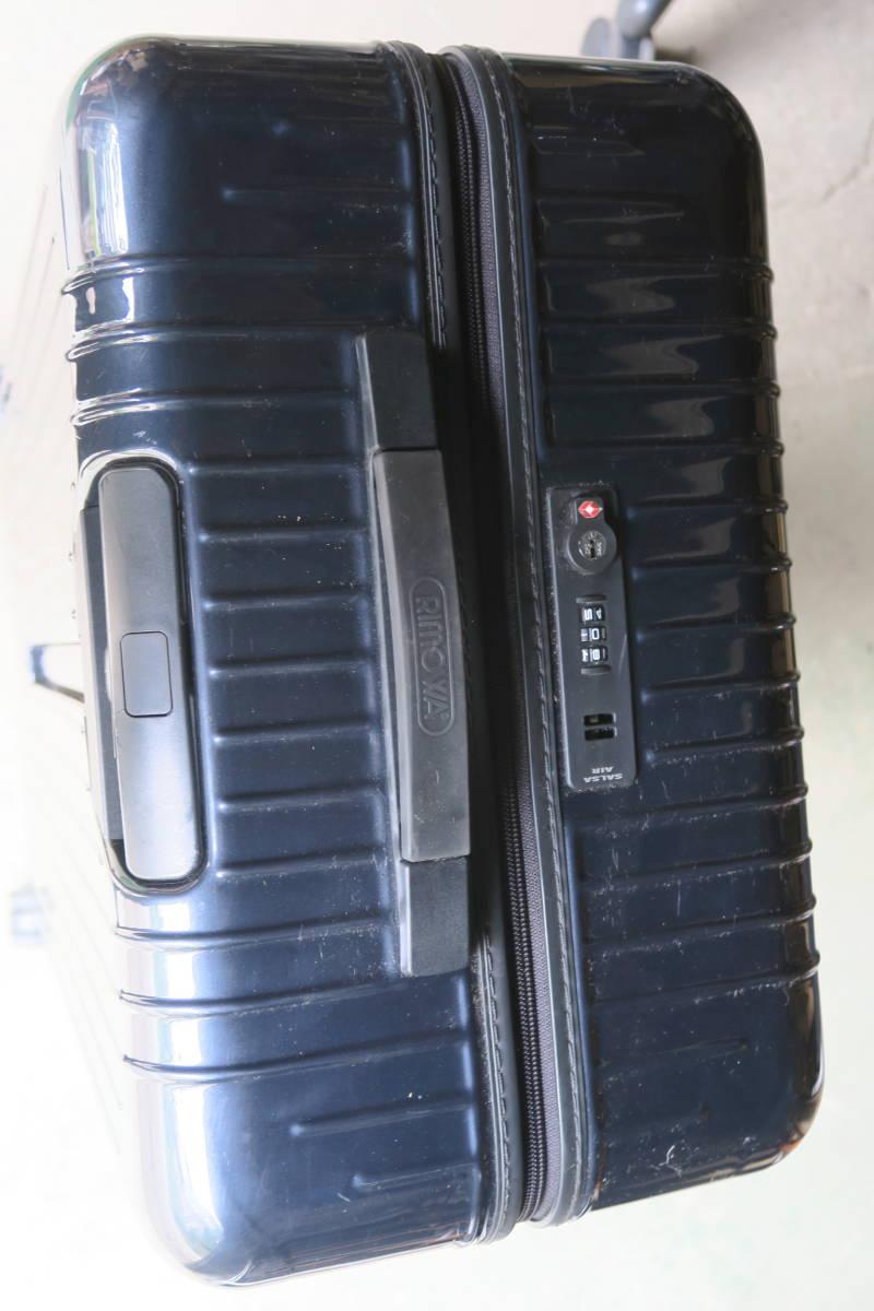 RIMOWA リモワ サルサエアー スーツケース ネイビー 4輪 サイズ 約65l_画像5