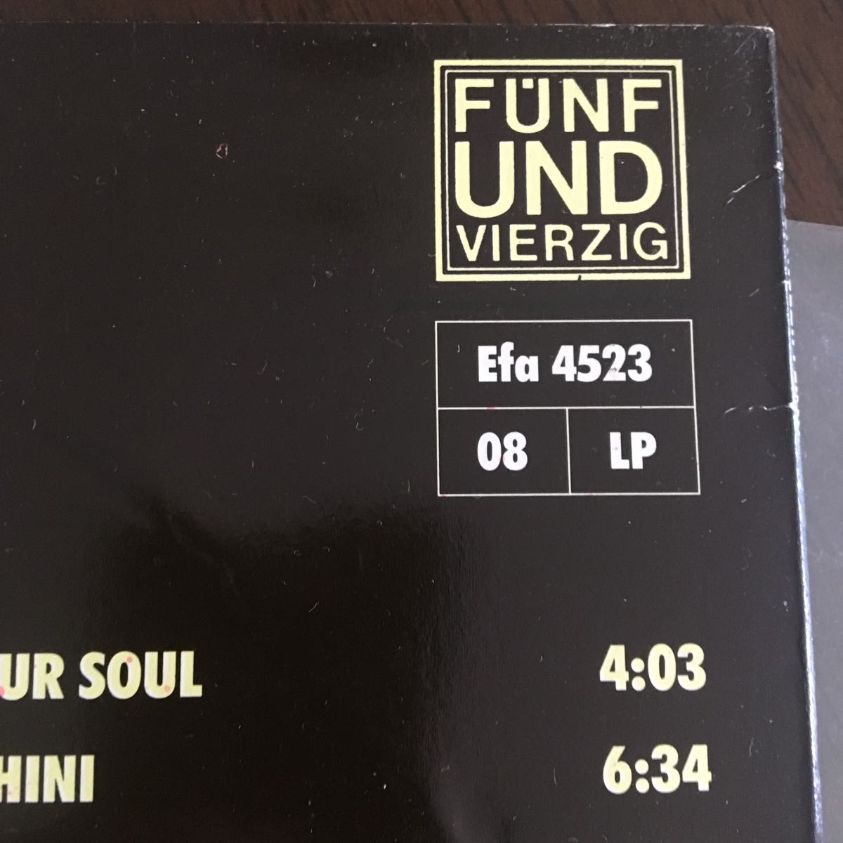 Dunkelziffer / III /LPレコード Krautroc 美品 ダモ鈴木 CAN_画像3