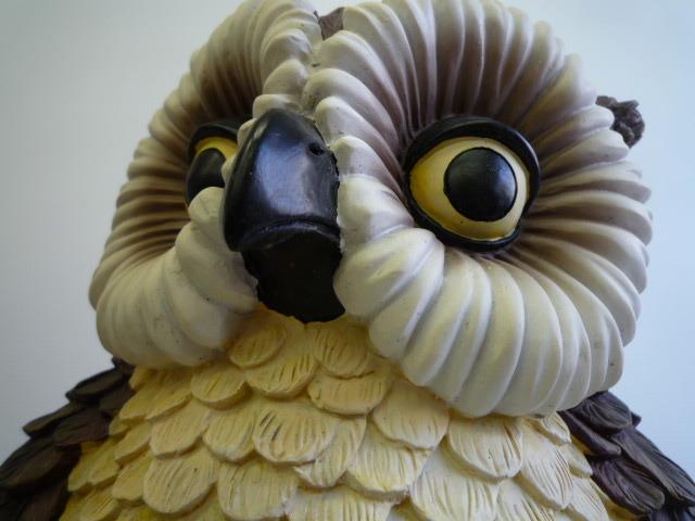 値下げ!【開運!】 ★ フクロウの置物 ★ 樹脂 高さ(約):39.5 cm_画像7