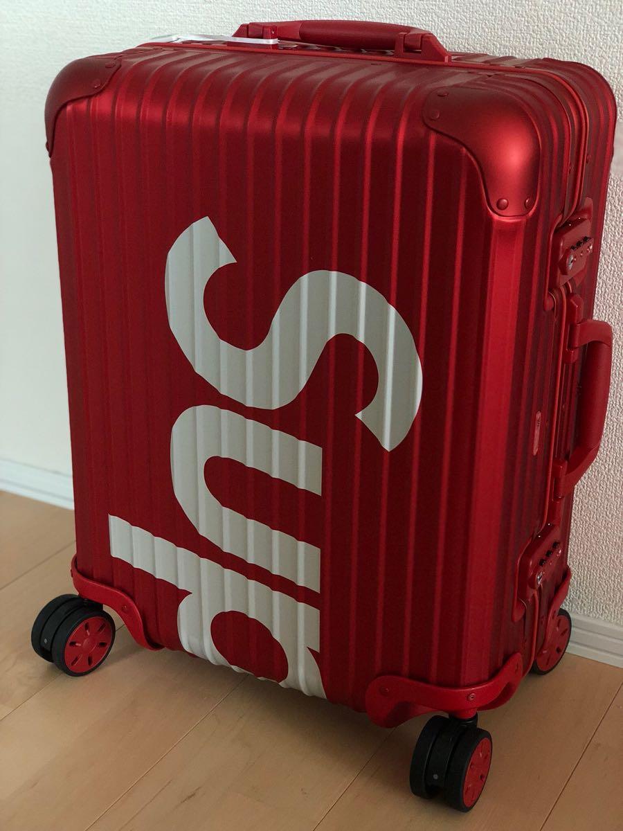 Supreme × Rimowa TOPAS 45L RED シュプリーム リモワ トパーズ 送料無料 正規品