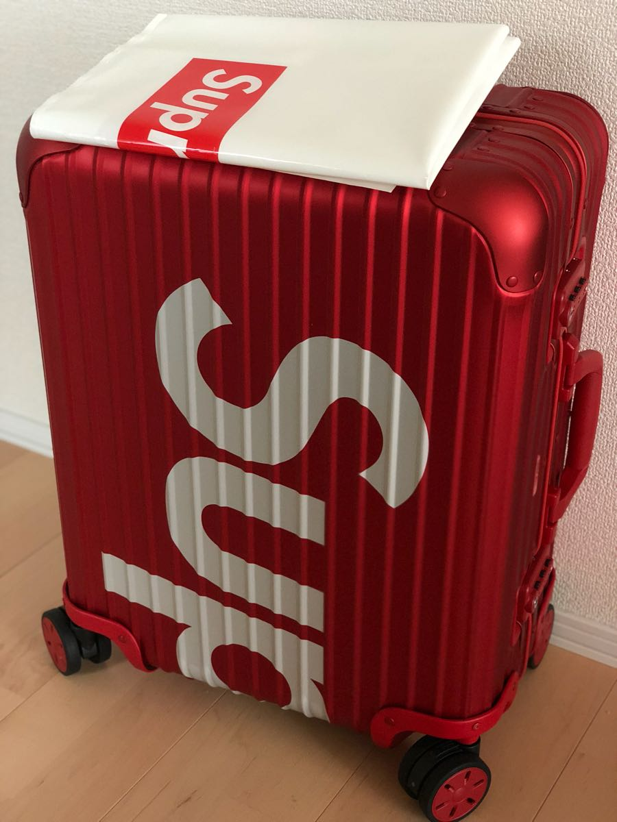 Supreme × Rimowa TOPAS 45L RED シュプリーム リモワ トパーズ 送料無料 正規品_画像4