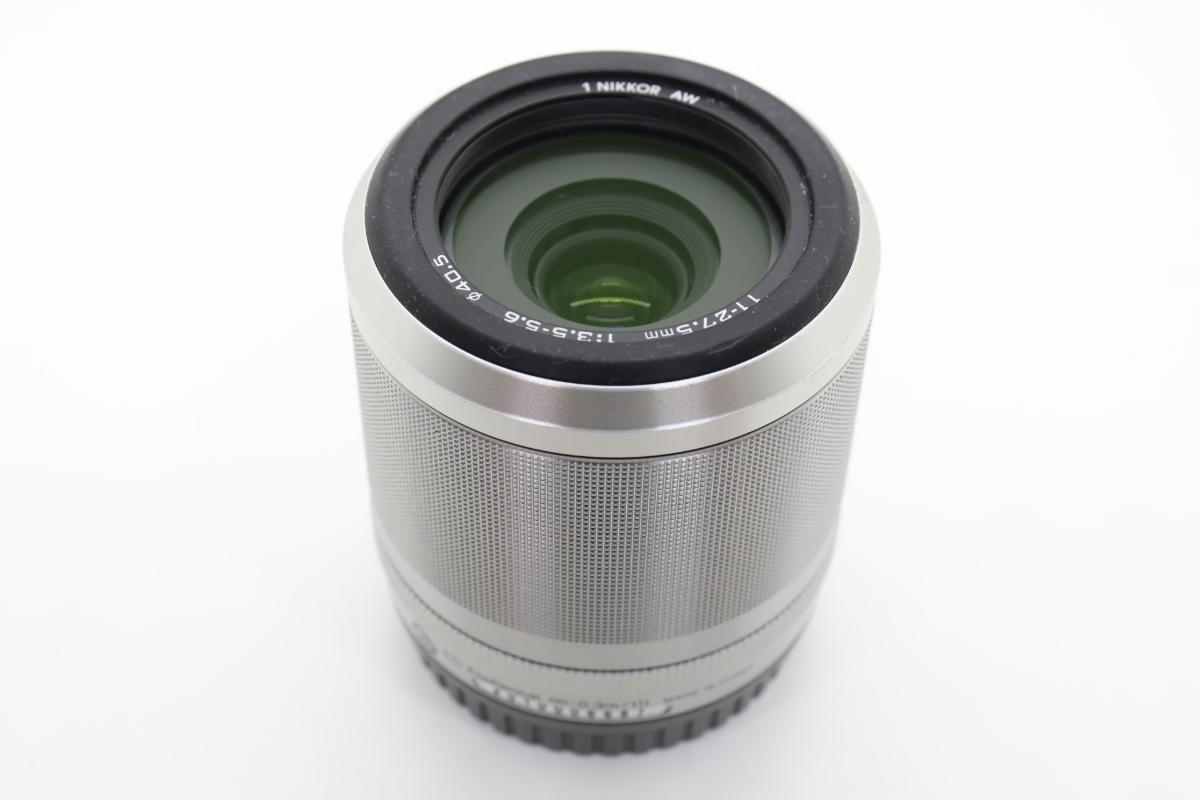 Nikon ニコン 1 AW1 防水ズームレンズキット シルバー Wi-Fiアダプター・グリップ付_画像5