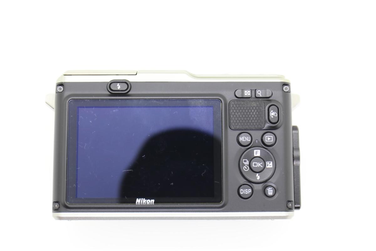 Nikon ニコン 1 AW1 防水ズームレンズキット シルバー Wi-Fiアダプター・グリップ付_画像3