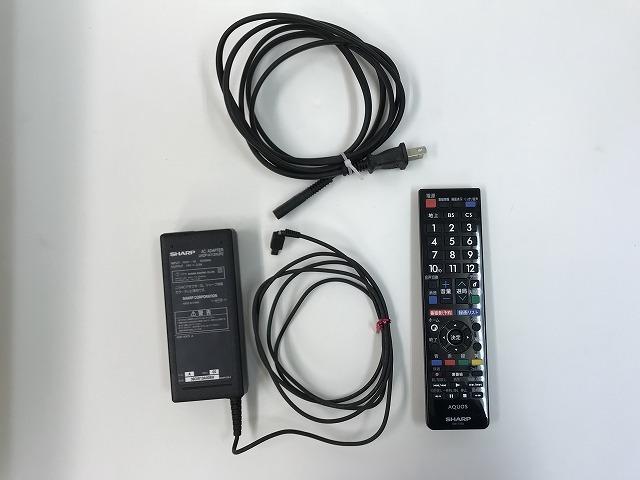 中古★SHARP 液晶テレビ 20型 2011年製 リモコン付き LC-20FE1 ファミリンク対応 AQUOS アクオス シャープ_画像2