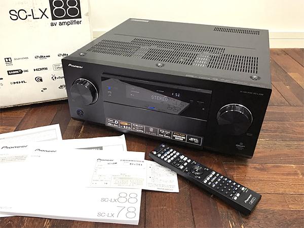 Pioneer SC-LX88 オーディオ機器 AVアンプ パイオニア 箱付