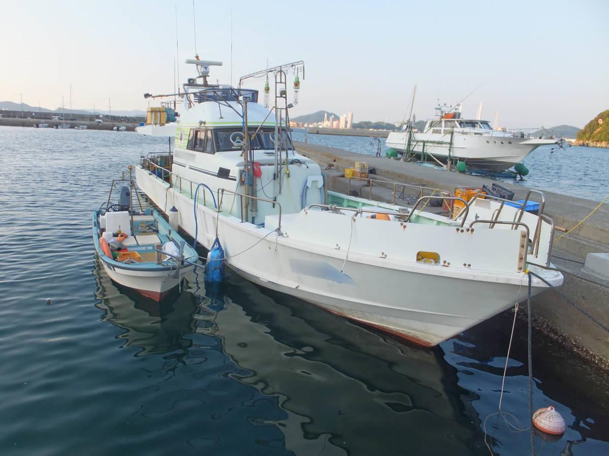 本格的な釣りに!  Jフィッシャー   51ft  近海区域の小型兼用船登録なので、多用途で使用可能!_画像2