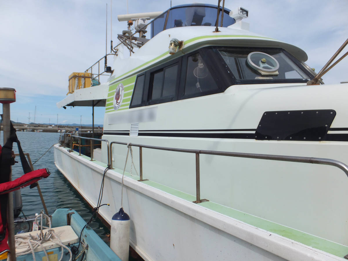 本格的な釣りに!  Jフィッシャー   51ft  近海区域の小型兼用船登録なので、多用途で使用可能!_画像5