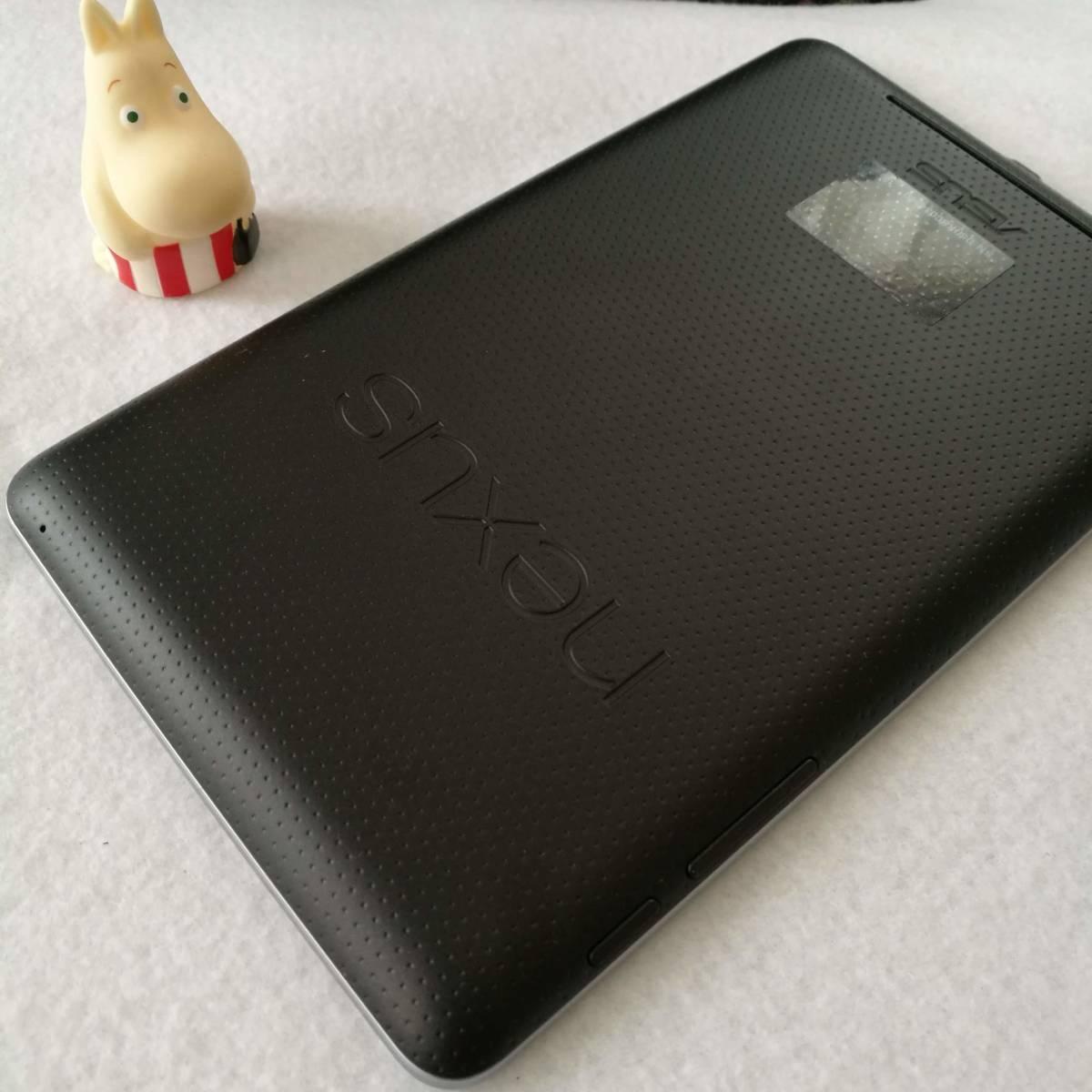 【美品です】【7インチタブレットの名機】Google Nexus7 Wi-Fiモデル 16GB ツムツム ポケ森 カーナビ AbemaTV インスタ できます 16_画像6