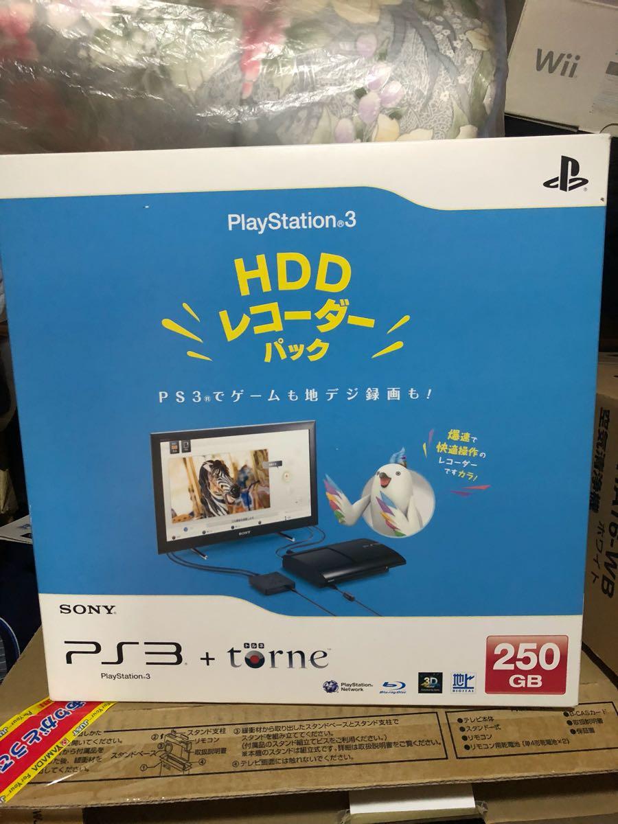 PS3 本体 torne コントローラー3個 PlayStation3 トルネ _画像3