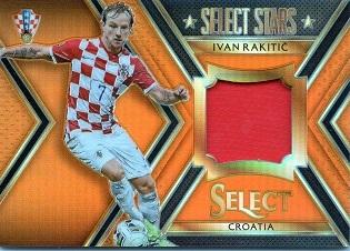 PANINI SELECT 2015-16 ラキティッチ ジャージカード 022/149 クロアチア代表 バルセロナ