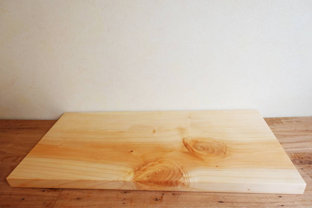 刃物に優しいまな板 いちょう 大 くるみオイル仕上げ 無垢まな板カッティングボードcafeサービングボード薬味トレー銀杏_画像4