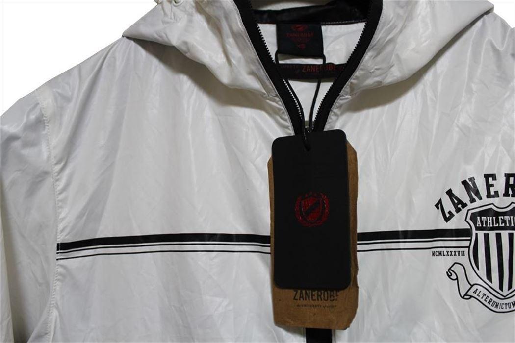 ゼインローブ ZANEROBE メンズアスレチックジャケット XSサイズ ブラック 新品_画像2