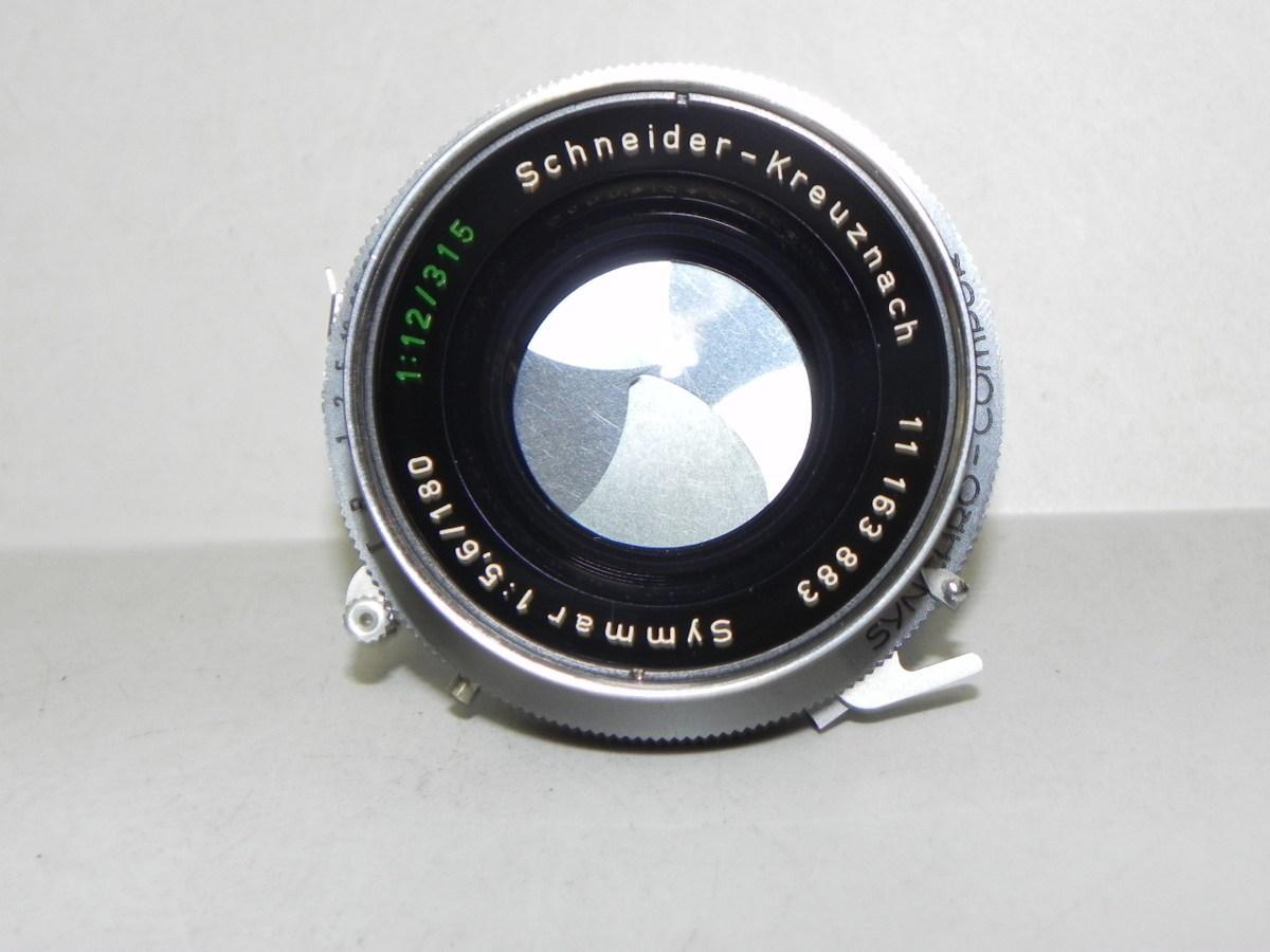 Schneider-Kreuznach symmar 180mm/f5.6 レンズ(中古品)_画像2