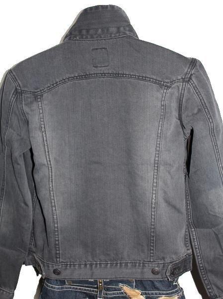 ゼインローブ ZANEROBE メンズデニムジャケット ブラック Sサイズ 新品_画像3