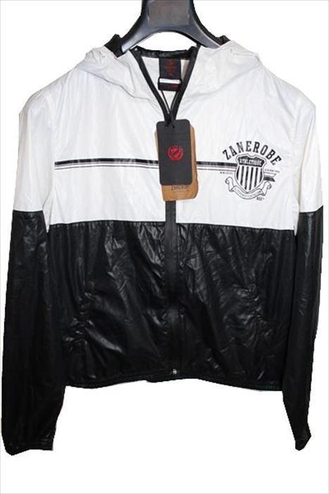 ゼインローブ ZANEROBE メンズアスレチックジャケット XSサイズ ブラック 新品_画像1