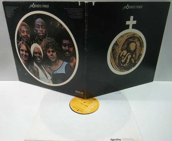 レア・初回Dynaflex 橙ラベ USオリジナル MOTHER'S FINEST Same/1st. デビュー ('72 RCA) 白黒混合ファンク・ロック・バンド_画像2