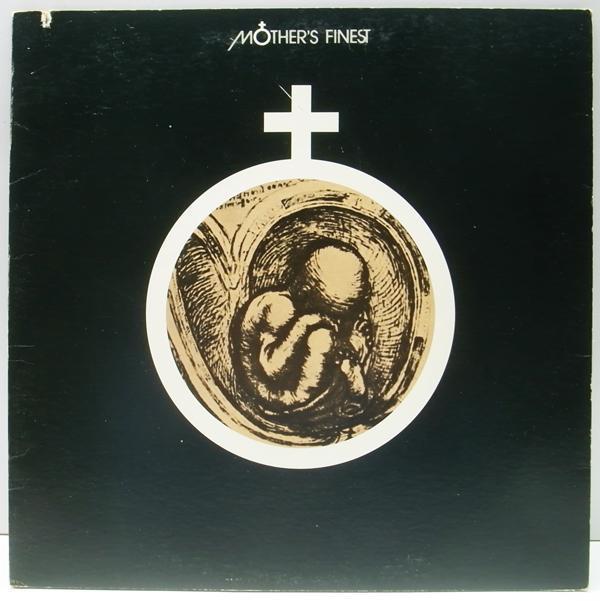 レア・初回Dynaflex 橙ラベ USオリジナル MOTHER'S FINEST Same/1st. デビュー ('72 RCA) 白黒混合ファンク・ロック・バンド_画像1