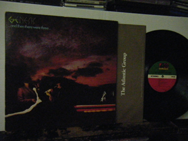 ▲LP GENESIS / …and then there were three… ジェネシス US盤_画像1