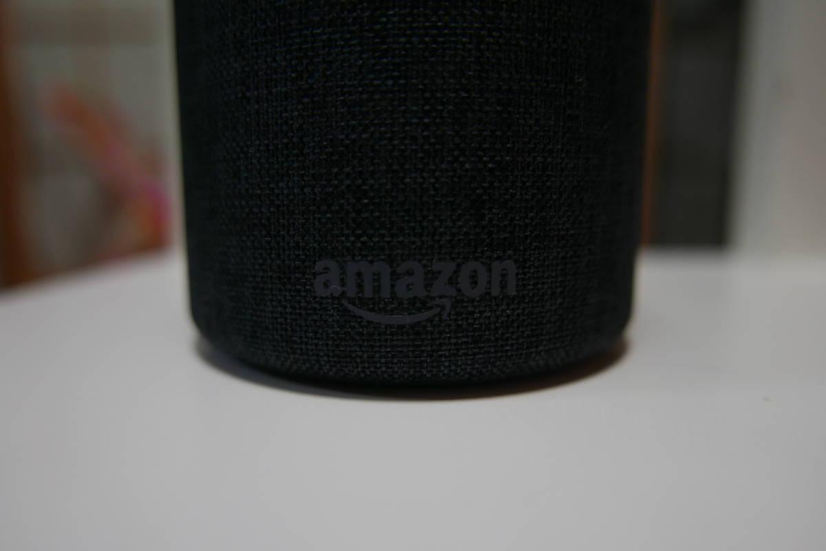Amazon Echo アマゾン エチョー  美品 チャコール×ファブリック_画像4