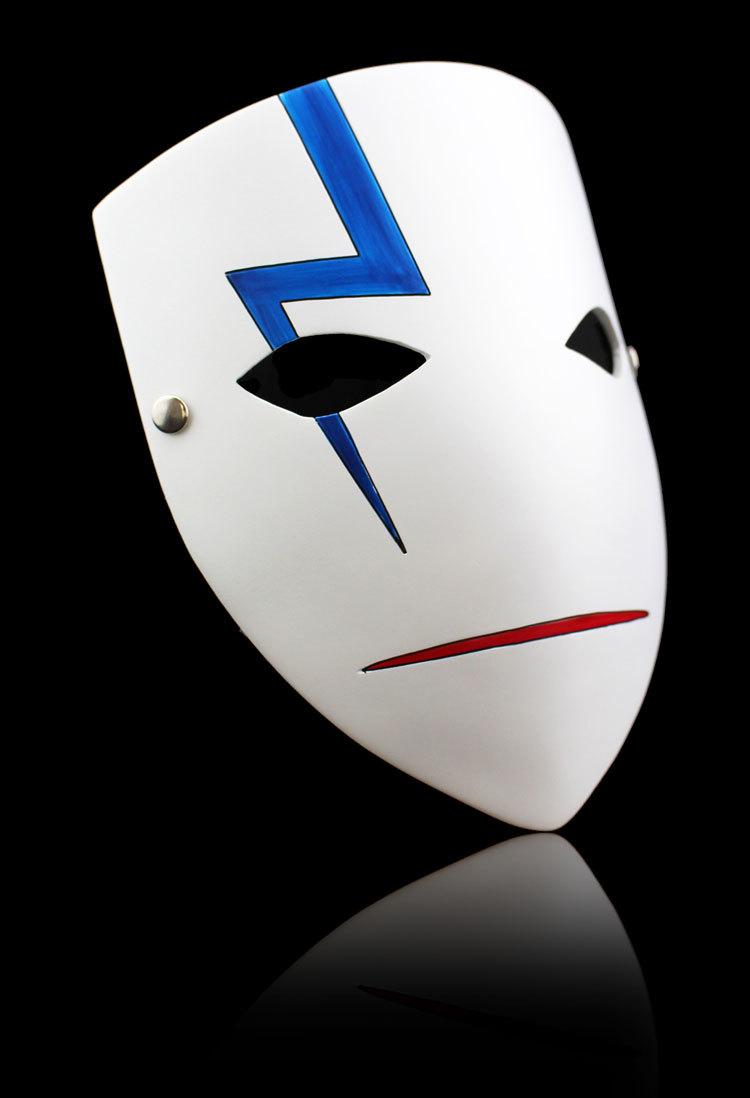 新品 仮面 コスプレ マスク ハロウィンCOSPLAY用品 DARKER THAN BLACK ダーカーザンブラック 黒の契約者 A_画像3
