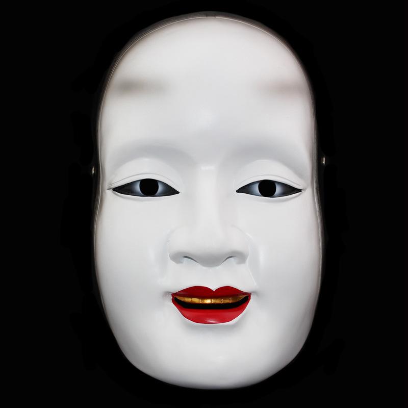 新品 仮面 コスプレ マスク ハロウィンCOSPLAY用品 能 般若_画像1