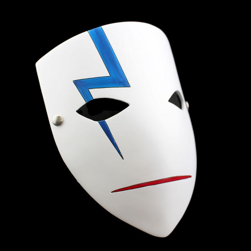 新品 仮面 コスプレ マスク ハロウィンCOSPLAY用品 DARKER THAN BLACK ダーカーザンブラック 黒の契約者 A_画像2
