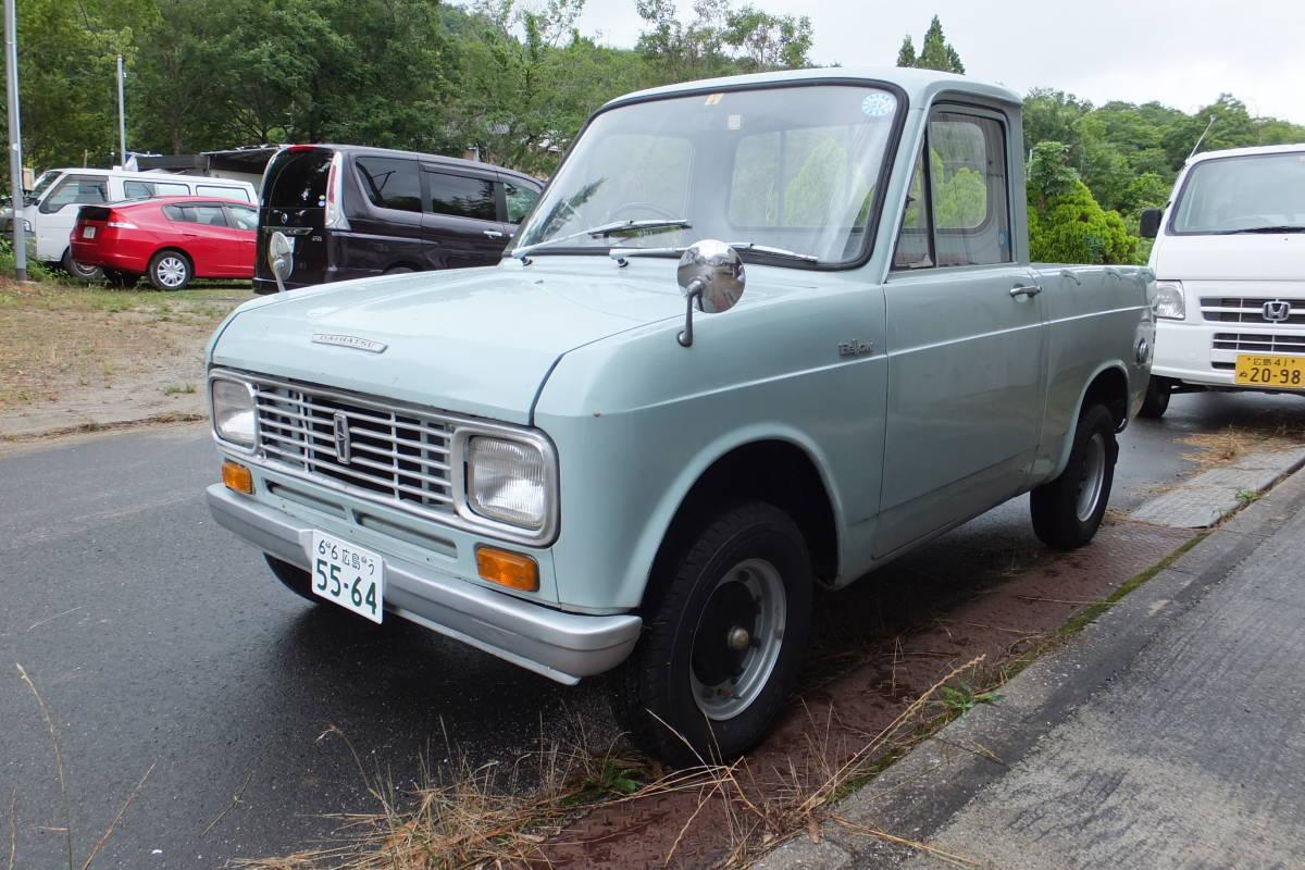 Daihatsu Fe Low Pick Up L37p Previous Term Model Old Car Rare Real
