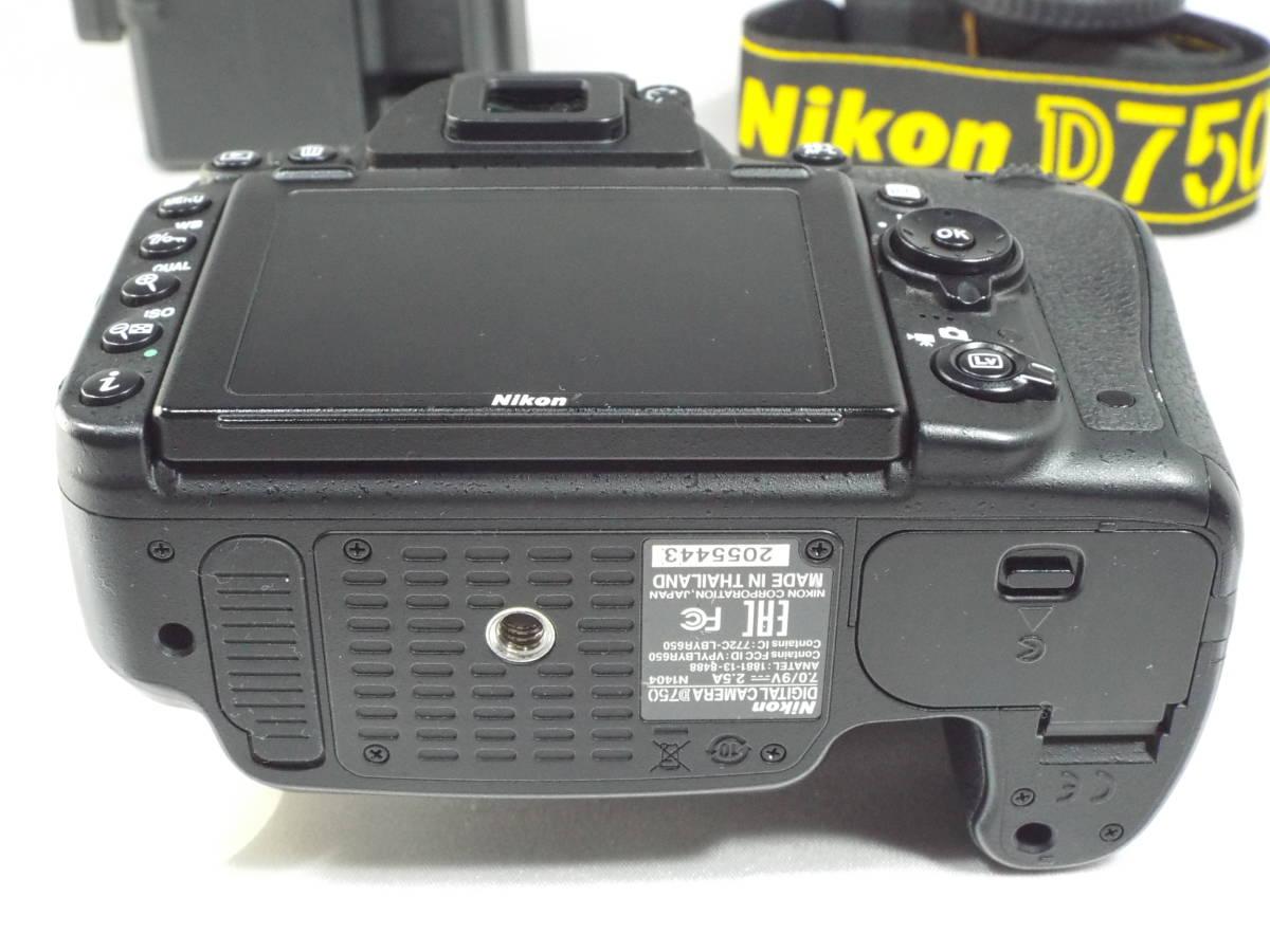 ニコン Nikon D750 ボディー _画像5