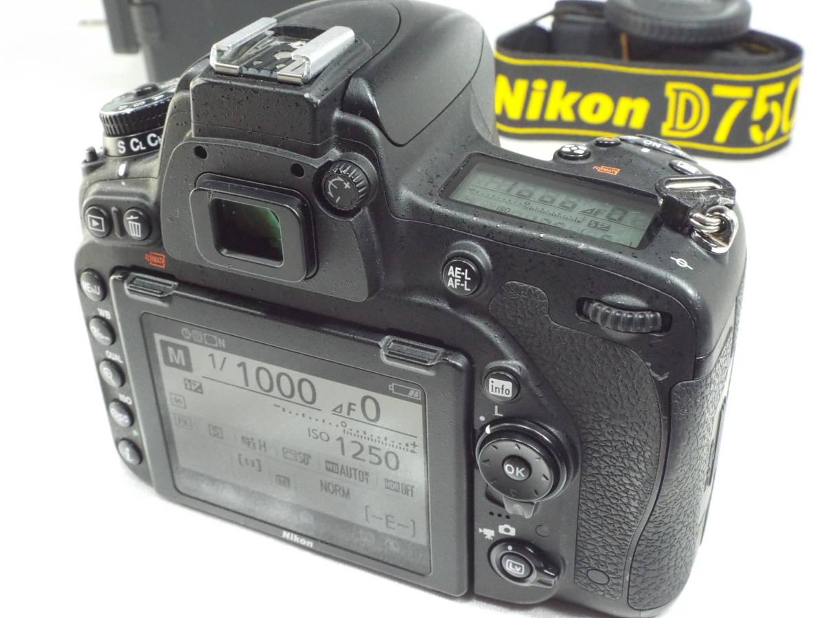 ニコン Nikon D750 ボディー _画像6