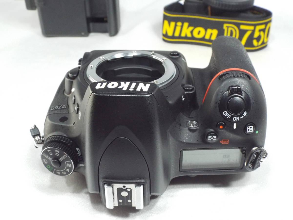 ニコン Nikon D750 ボディー _画像7