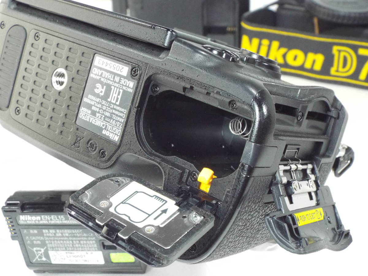 ニコン Nikon D750 ボディー _画像8