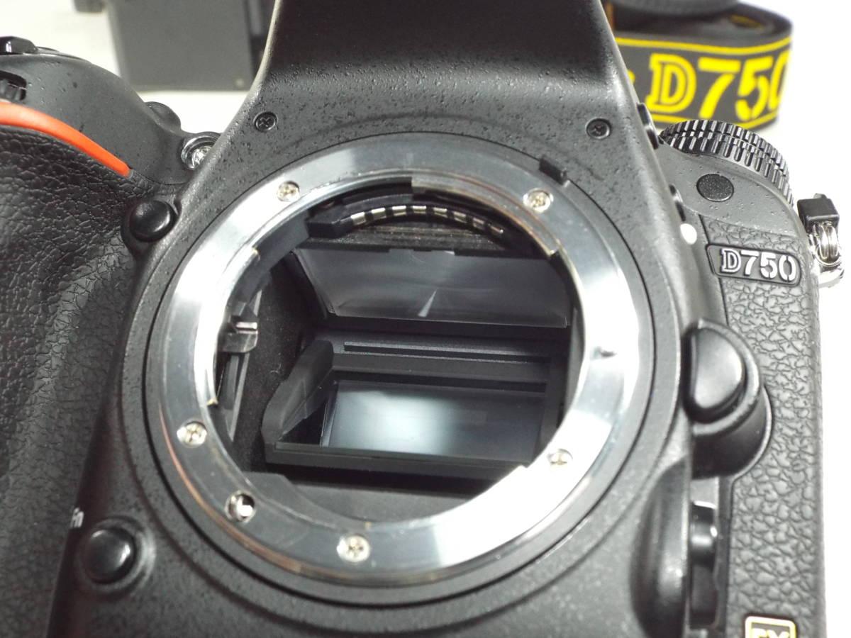 ニコン Nikon D750 ボディー _画像9