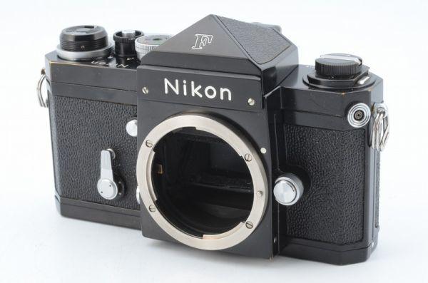 ★1円~ 動作良好 ニコン Nikon F アイレベル ブラック ボディ 7114919