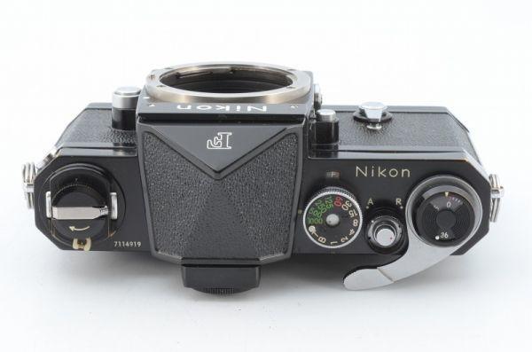 ★1円~ 動作良好 ニコン Nikon F アイレベル ブラック ボディ 7114919_画像3