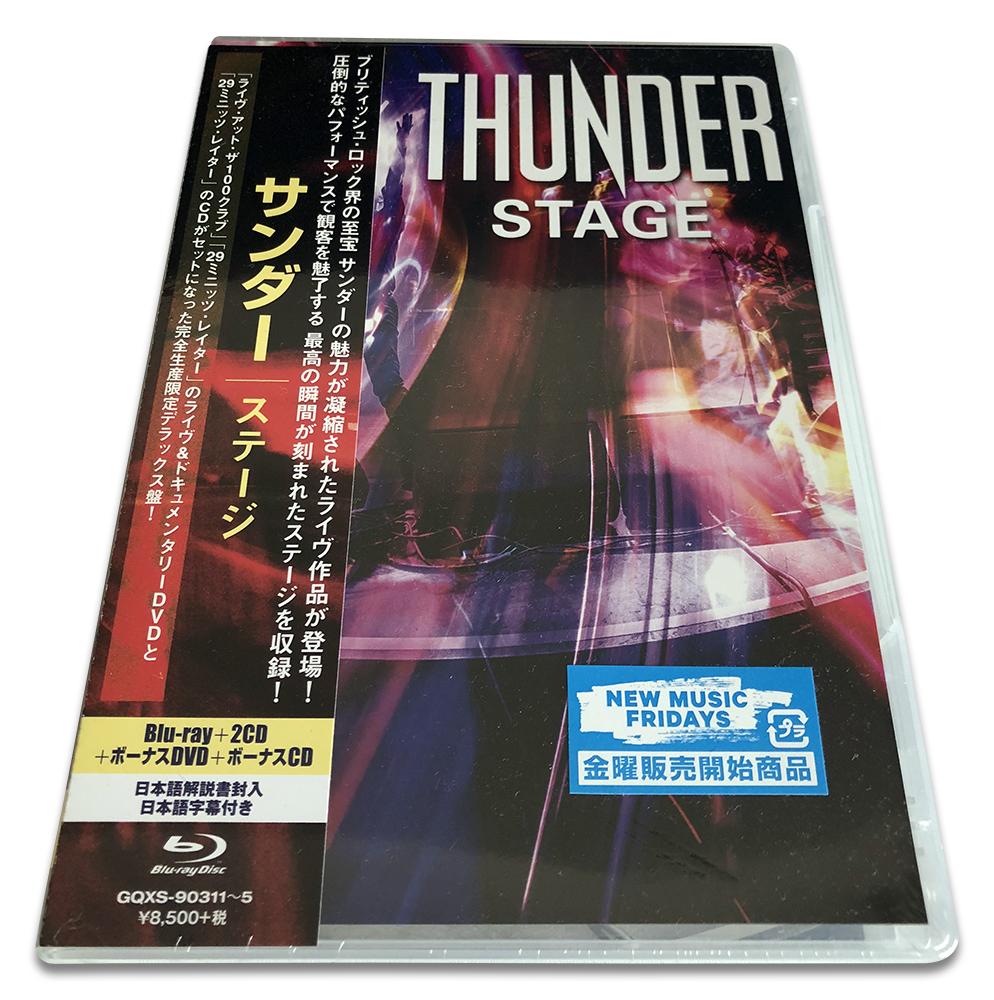 サンダー/ステージ (Thunder/Stage)【完全生産限定盤Blu-ray+2CD+ボーナスDVD+ボーナスCD】_画像1