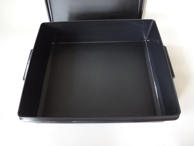 T / Tupperware タッパーウェア スーパーケース #1 ブラック 中古品_画像5