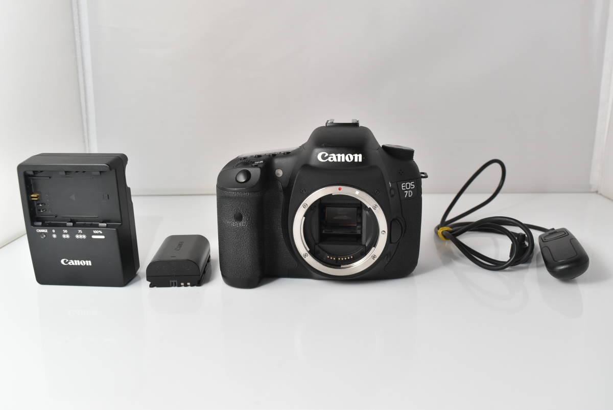 ★超極上品★ キヤノン Canon EOS 7D ★充電器付 ★ #699
