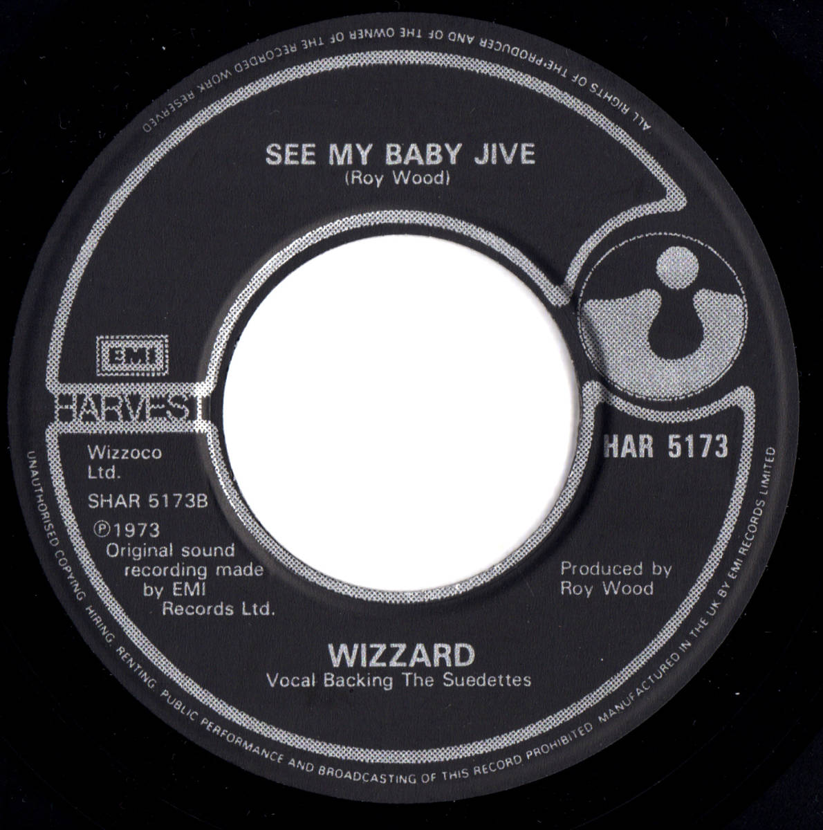 """7""""UK盤】 ROY WOOD WIZZARD ロイ・ウッド i wish it could be christmas ..."""