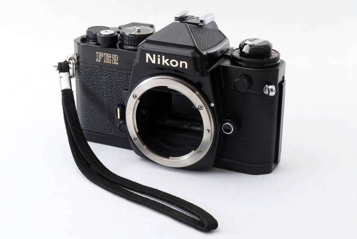 ★極上美品★ Nikon ニコン FE2 ブラックボディ #1343