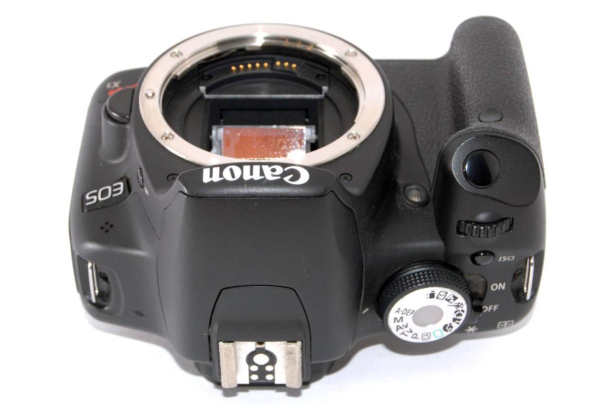 ●付属品多数有り● Canon キャノン EOS Kiss X3 純正&超望遠Wズームレンズセット_ペンタ部もキレイです、ご覧ください!★